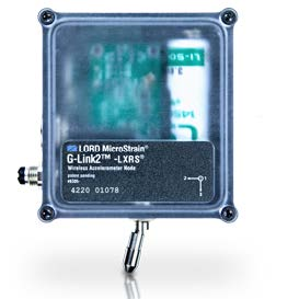 LORD MicroStrain Crane Health Monitoring Sensors