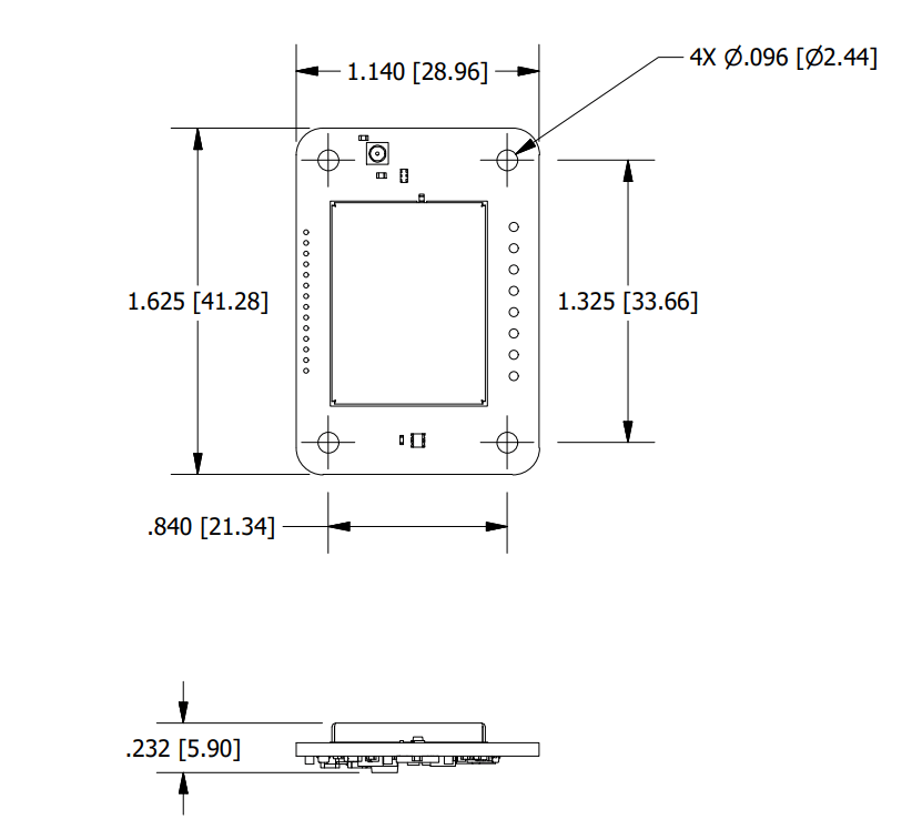 SG-Link-200-OEM - dimensions