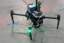 Quadcopter with GX5 GNSS/INS sensor