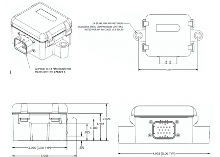 SG-Link-200 Dimensions