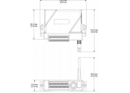 V-Link-200 dimensions