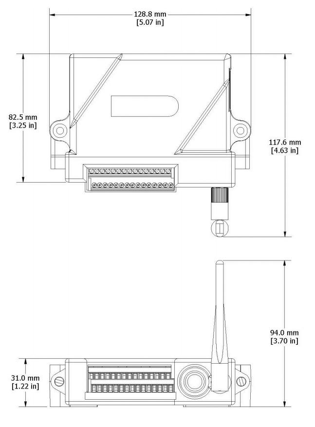 RTD-Link-200 Dimensions