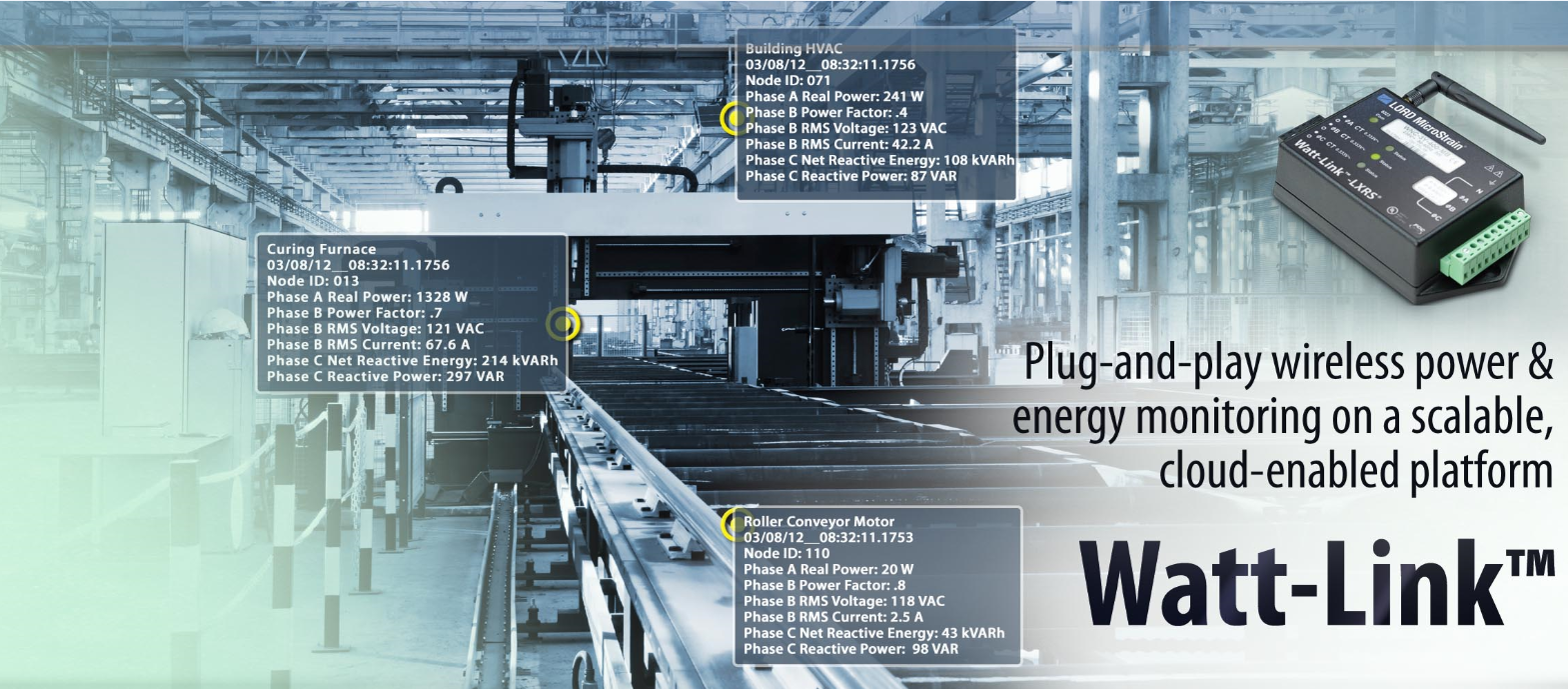 Watt-Link Wireless Energy Metering